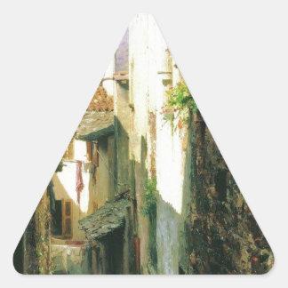 Bellagio by Fyodor Bronnikov Triangle Sticker