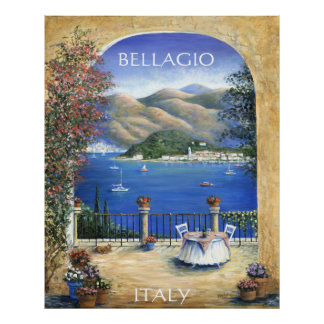 Bellagio From The Terrace Poster