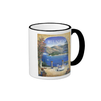 Bellagio From The Terrace Ringer Coffee Mug