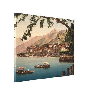 Bellagio I, lago Como, Lombardía, Italia Impresion En Lona