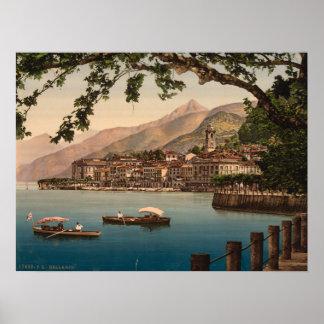 Bellagio I, lago Como, Lombardía, Italia Impresiones
