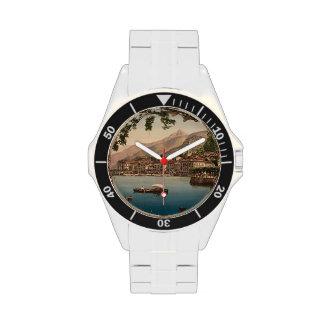 Bellagio I, lago Como, Lombardía, Italia Relojes De Pulsera