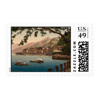 Bellagio I, lago Como, Lombardía, Italia Sello Postal