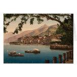 Bellagio I, lago Como, Lombardía, Italia Tarjeta De Felicitación