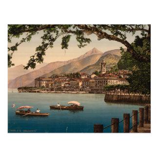 Bellagio I, lago Como, Lombardía, Italia Tarjeta Postal