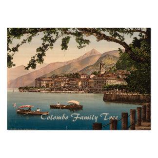 Bellagio I, lago Como, Lombardía, Italia Tarjetas De Visita Grandes