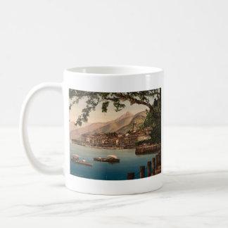 Bellagio I, lago Como, Lombardía, Italia Taza Básica Blanca
