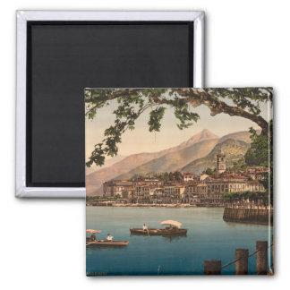 Bellagio I, Lake Como, Lombardy, Italy 2 Inch Square Magnet
