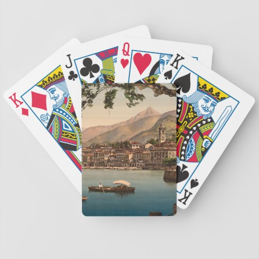 Bellagio I, Lake Como, Lombardy, Italy Deck Of Cards