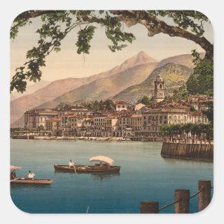 Bellagio I, Lake Como, Lombardy, Italy Square Sticker