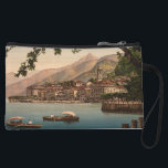 "Bellagio I, Lake Como, Lombardy, Italy Wristlet Wallet<br><div class=""desc"">A vintage image of Bellagio on Lake Como,  Lombardy,  Italy,  which was taken at the end of the 19th century. The photo shows a beautiful view of Bellagion from across Lake Como. Photograph courtesy of LOC (LC-DIG-ppmsc-06439)</div>"