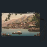 """Bellagio I, Lake Como, Lombardy, Italy Wristlet Wallet<br><div class=""""desc"""">A vintage image of Bellagio on Lake Como,  Lombardy,  Italy,  which was taken at the end of the 19th century. The photo shows a beautiful view of Bellagion from across Lake Como. Photograph courtesy of LOC (LC-DIG-ppmsc-06439)</div>"""