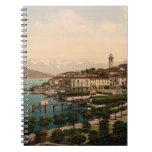 Bellagio II, lago Como, Lombardía, Italia Libreta Espiral