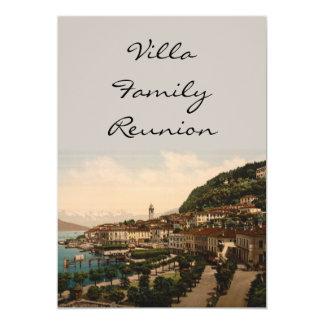 """Bellagio II, lago Como, Lombardía, Italia Invitación 5"""" X 7"""""""