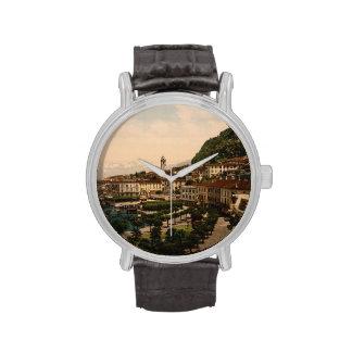 Bellagio II, lago Como, Lombardía, Italia Relojes De Mano