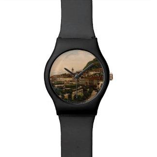Bellagio II, lago Como, Lombardía, Italia Relojes De Pulsera
