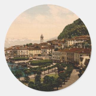 Bellagio II, Lake Como, Lombardy, Italy Classic Round Sticker