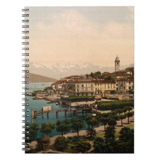 Bellagio II, Lake Como, Lombardy, Italy Spiral Notebook