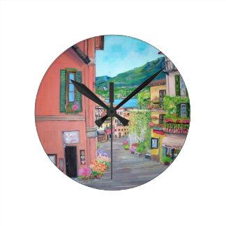 Bellagio, Italy Wall Clock