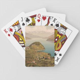 Bellagio IV, Lake Como, Lombardy, Italy Poker Cards