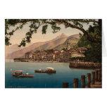 Bellagio, lago Como Tarjeta De Felicitación