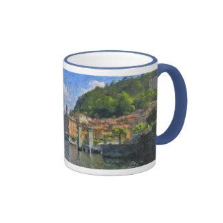 Bellagio, lago Como, taza de Italia