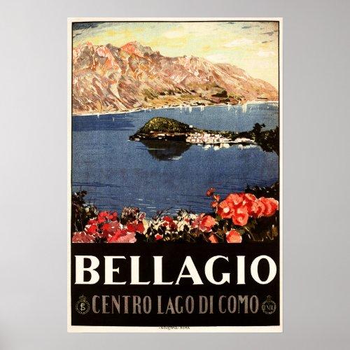 BELLAGIO Lake Como ITALY Vintage Italian Travel