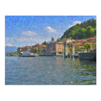 Bellagio, Lake Como Postcard