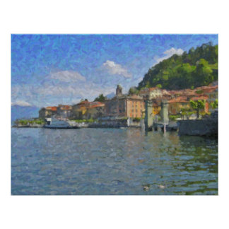 Bellagio, Lake Como Poster