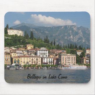 Bellagio on Lake Como Mouse Pad