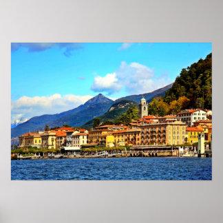 Bellagio on Lake Como Poster