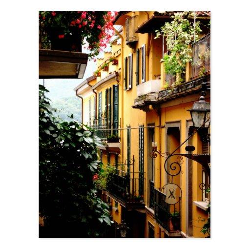 bellagio postcard