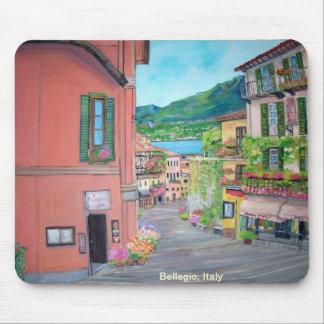 Bellagio Street, Italy Mousepad