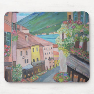 Bellagio town, Italy Mouse Pad