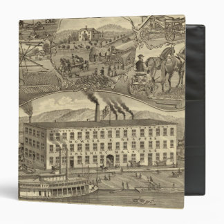 Bellaire Manufacturing Company Bellaire, Ohio 3 Ring Binder