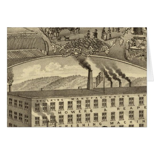 Bellaire Manufacturing Company Bellaire, Ohio Card
