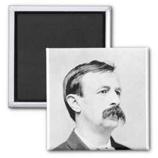 Bellamy ~ Edward / Writer Author Looking Backward 2 Inch Square Magnet