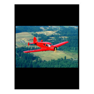 Bellanca, Cruiseair Junior, 1940_Classic Aviation Postcard
