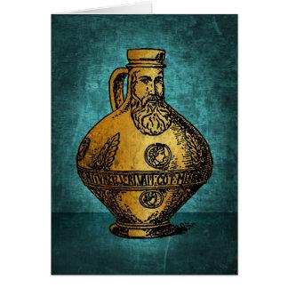 Bellarmine Witch Bottle Card