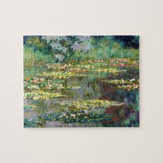 Bellas arte de los lirios de agua de Monet 1904) ( Puzzle