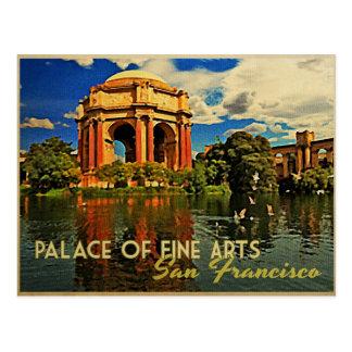 Bellas arte del palacio de San Francisco Postales