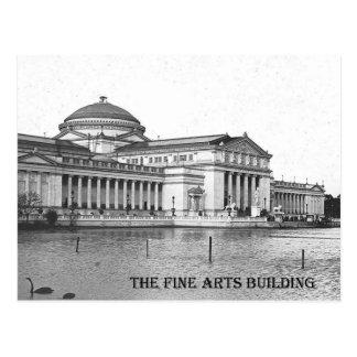 Bellas arte que construyen, exposición 1893 de tarjetas postales