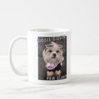 Bella's Giggle Giggle Paw Clap Coffee Mug