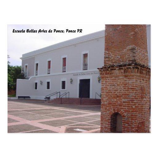 BellasArtesAtrs, Escuela Bellas Artes de Ponce... Postcard