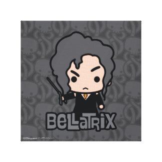 Bellatrix Cartoon Character Art Canvas Print