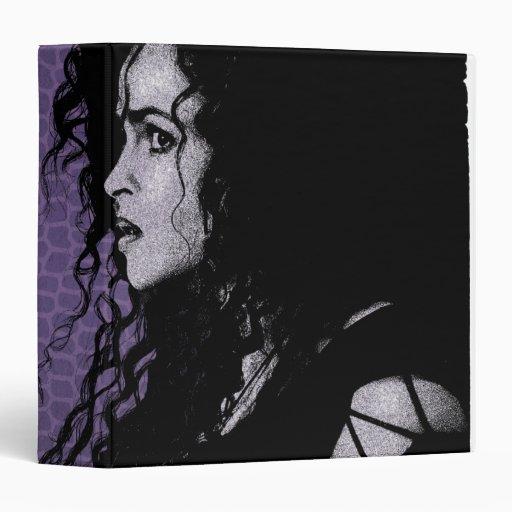 "Bellatrix Lestrange 5 Carpeta 1 1/2"""
