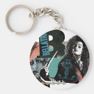 Bellatrix Lestrange 6 Basic Round Button Keychain