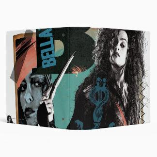 Bellatrix Lestrange 6 Vinyl Binders