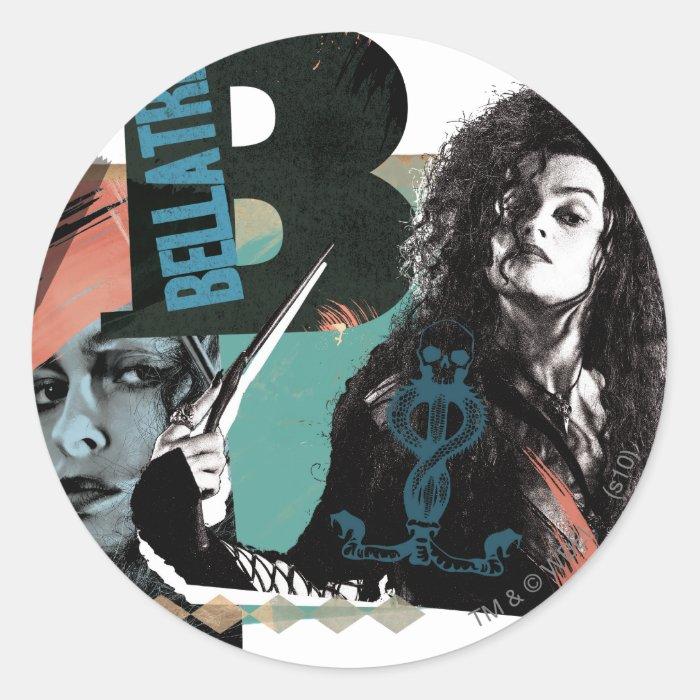 Bellatrix Lestrange 6 Classic Round Sticker