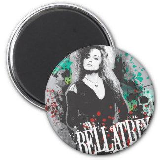 Bellatrix Lestrange Graphic Logo 2 Inch Round Magnet